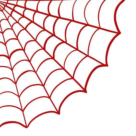 Spider Web ClipArt - Halloween Clip Art - Png Digital Stamps ... | Art ...