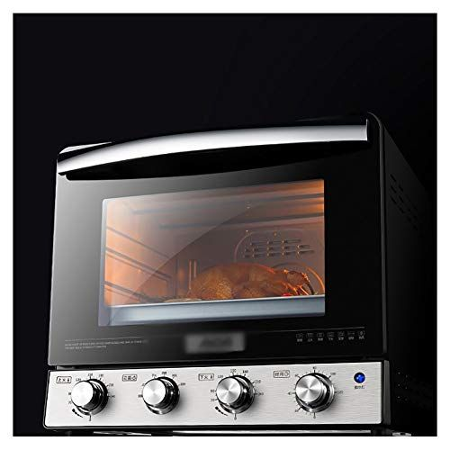 Oppale Ovens 2000w Black Mini Oven Electric Grill Fast Heating