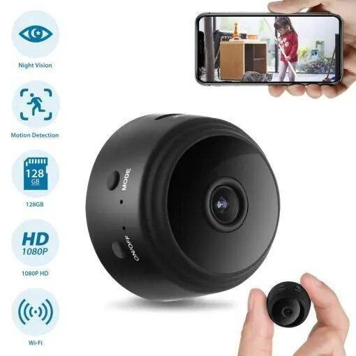 Wireless Night Vision Wifi Camera 64gb Au In 2021 Security Cameras For Home Wireless Surveillance Camera Wireless Home Security Systems