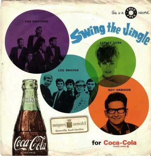 Image result for coke cola on album covers