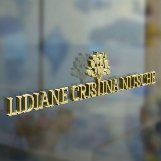 Aplicação em vidro - Lidiane Cristina Nitsche