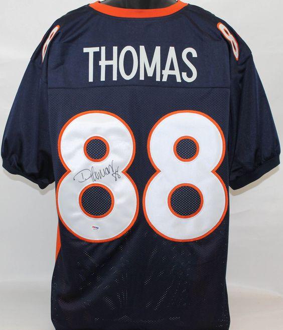 demaryius thomas autographed jersey