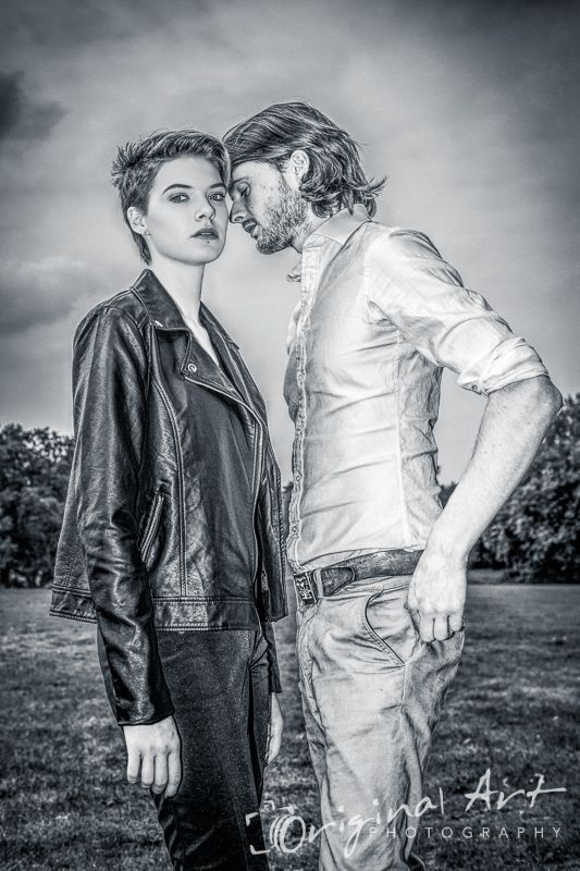 """This outdoor couple portrait won """"highly commended"""" in the Open Avant Garde section of the Societies' September 2014 competition"""