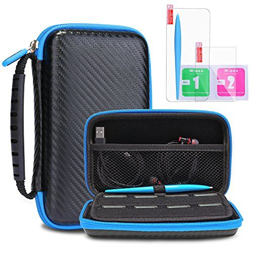 New Nintendo 2ds Xl Ll Protective Carrying Case Kingtop Hard Shell Travel Bag For New Nintendo 2ds Xl Ll New Nintendo 3ds Xl Ll Nintendo 2ds Nintendo Bags