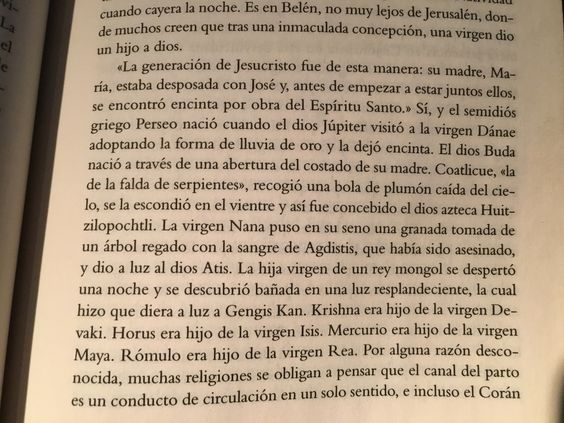 El curioso origen que comparten las religiones -Libro God is not great de Christopher Hitchens (en español)