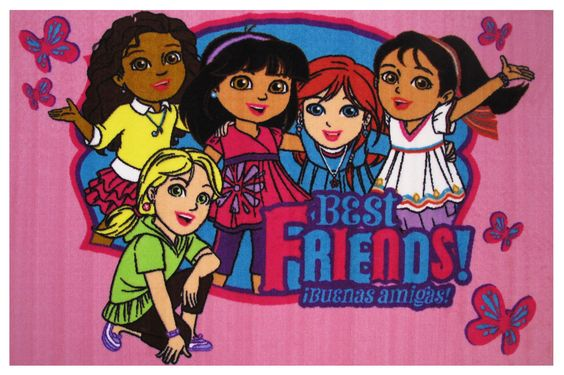 Dora Best Friends Area Rug
