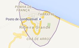 Map of Ribeira Grande Cap-Vert