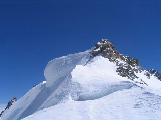 Sommet du Mont Blanc du Tacul