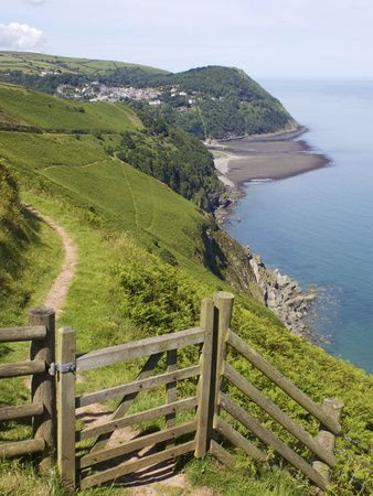 Lynmouth, Exmoor National Park, Somerset, England, United Kingdom,