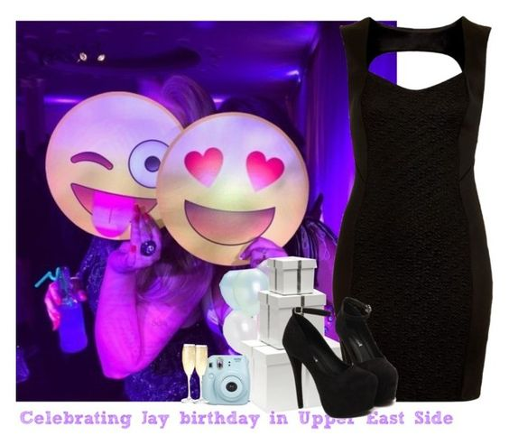 """""""Celebrating Jay's birthday in Upper East Side"""" by giovannacarlamalik ❤ liked on Polyvore featuring Bungalow 5 and Topshop"""