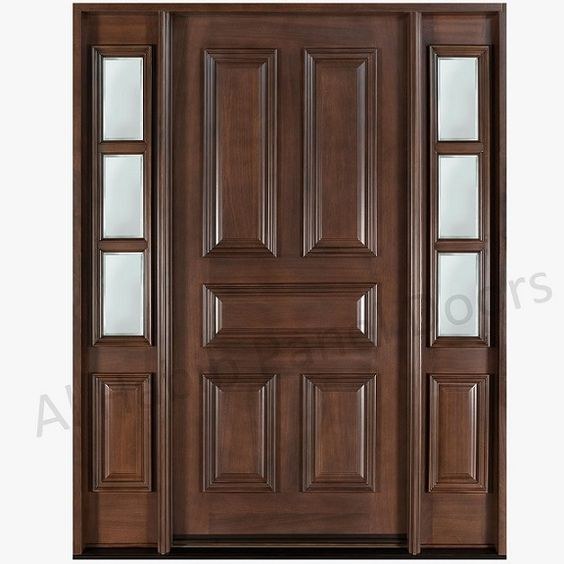 Solid doors products and panel doors on pinterest for 15 panel solid wood door
