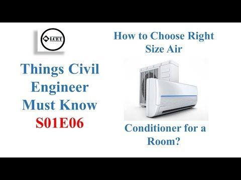 How To Choose Right Size Air Conditioner For A Room Things Civil