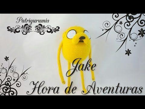 DIY JAKE amigurumi en ganchillo - Crochet - YouTube