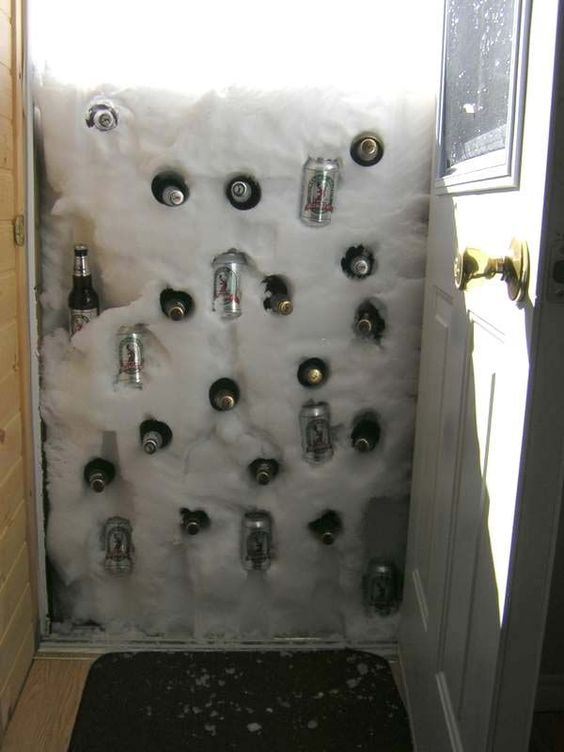 Winter fridge
