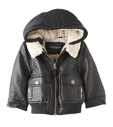 Product: London Fog® Baby Boys' Faux Leather Jacket | Boy clothes ...