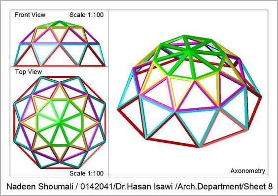 Nadeen Shoumali‎الرسم المعماري بالحاسوب/ computer architectural drawing: