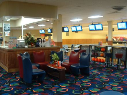 Bowl Long Island 40 Lanes Extreme Bowling Bar Snack Bar - Bowling Lanes