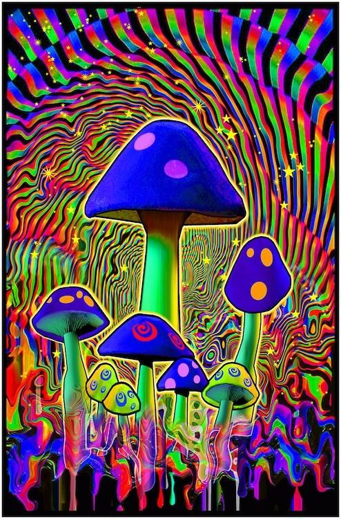 #3518  LW9 B RIPPLES PSYCHEDELIC POSTER FREE SHIPPING