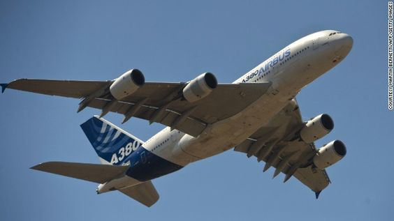 """2007: The Airbus A380 """"superjumbo"""" took the place of the Boeing 747 as the world's largest passenger jet, first entering commercial service with Singapore Airlines. With two full decks it can carry 853 passengers, depending on the seating configuration."""