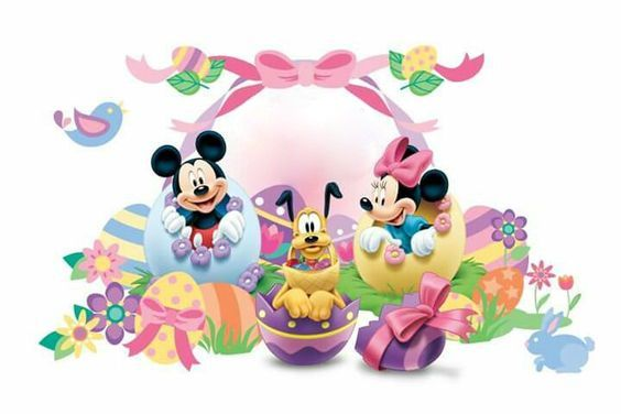Disney Ostern Mickey Easter Disney Easter Easter Wallpaper