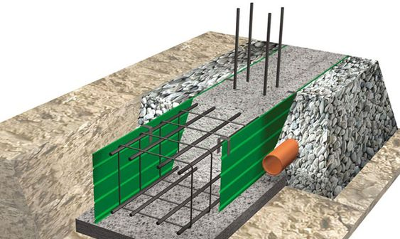 Basement construction,  Waterproof concrete structure,  All types of reinforced concrete,  Multi-storey concrete frame structure,  All kind of staircases; mirrored, circular or straight,  Swimming pool creation,  Underground car parks and subterranean spaces,  Sea defences & marine works,