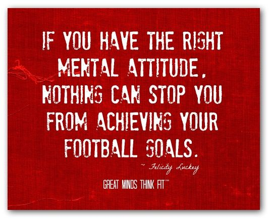 The Benefits of Positive Thinking and Right Attitude in Sports