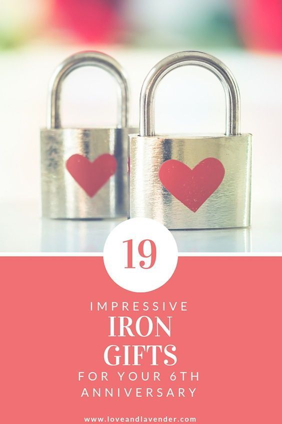 Looking For A 6th Year Anniversary Gift We Ve Rounded Up 19 Of The Best Iron Anniversary Gifts For Him Her 6thanniversary Sixtha Iron Anniversary Gifts Anniversary Ideas For