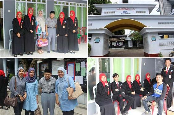 Suasana tempat kursus BEC Pare Kediri Jawa Timur
