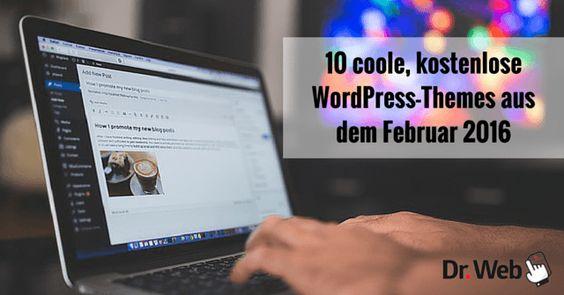 10 coole, kostenlose WordPress-Themes aus dem Februar 2016