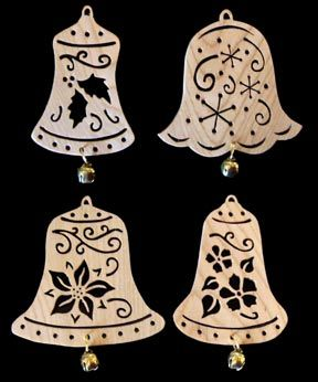 SLD390 - Decorated Bell Ornaments: