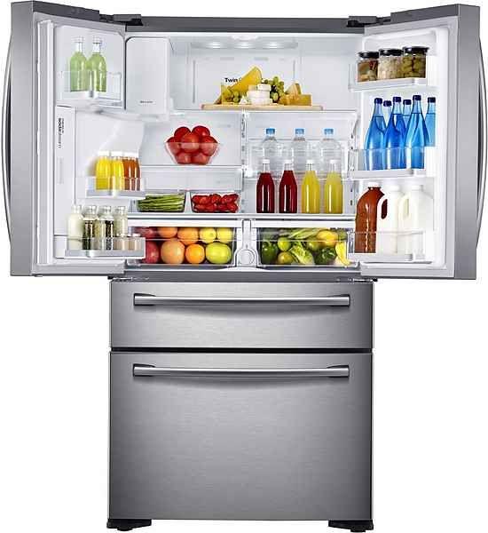 Samsung French Door Rf24hsesbsr Eg 177 7 Cm Hoch 90 8 Cm Breit No Frost Online Kaufen Cuisine