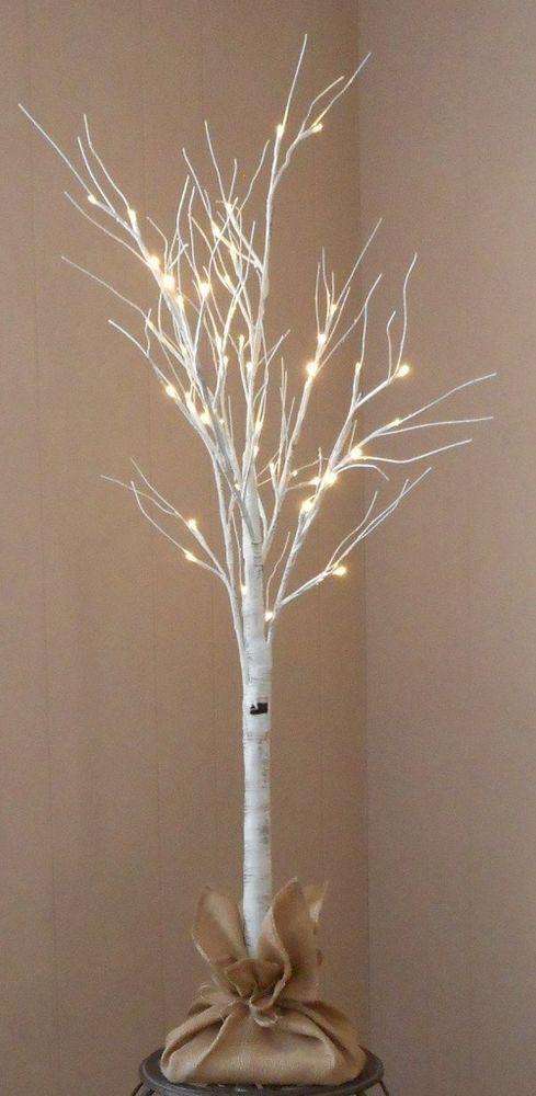 Best Fiber Optic Christmas Trees Birch Tree Decor Tree House Decor Fiber Optic Christmas Tree