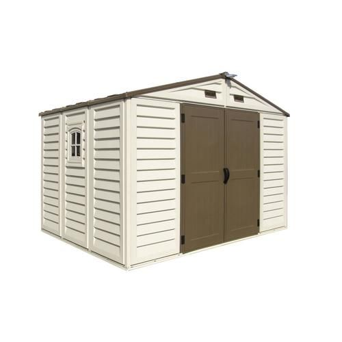 Duramax Building Products Common 10 Ft X 8 Ft Actual Interior Dimensions 10 2 Ft X 7 688 Ft Woodbridge Plus Gable Storage Shed Lowes Com Shed Shed Plans Storage Shed