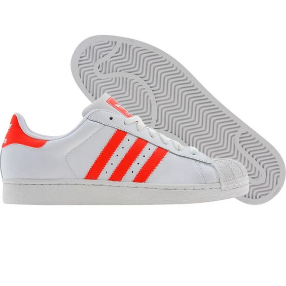 Adidas Superstar Hellorange