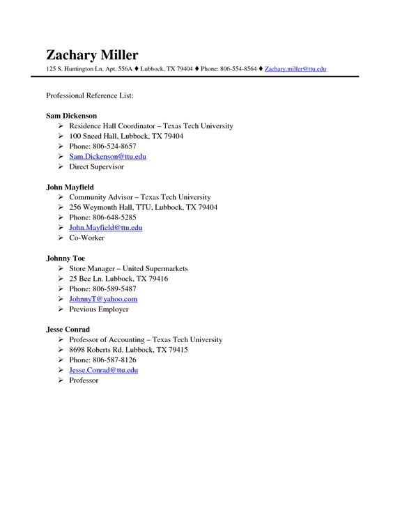 Doc620802 Free References Template Template Reference list – Free Reference Template