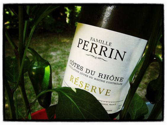 2010 Famille Perrin Reserve Cotes Du Rhone - Smooth, a bit of a tart finish, fruity aroma, light fruit on the palate