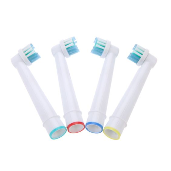 High Quality 4Pcs Electric Toothbrush Replacement Heads Fit for Braun Oral B…