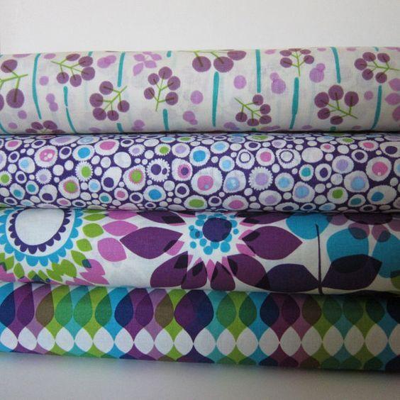 Fabric Bundle  Summer's End Big Sur Cotton by FabricFascination, $6.75