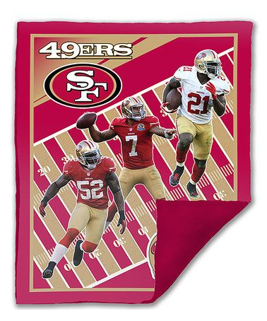 Take a look at this San Francisco 49ers Biggshot Snuggle Cover by Biggshots on #zulily today!