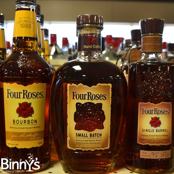 Everyone loves roses . . . #bourbon #whiskey #fourroses