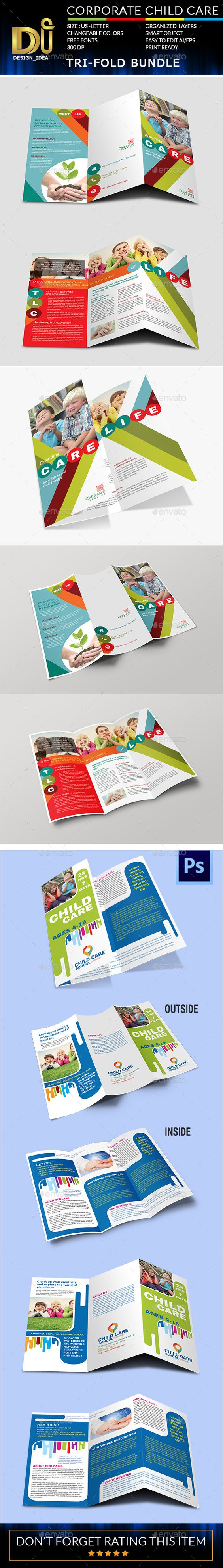 child care brochure template - brochures templates and children on pinterest