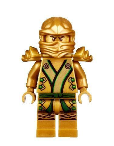 Lego ninjago 70505 golden ninja lloyd minifigure gold ninja new finals lego ninjago and for the - Ninjago lloyd gold ...