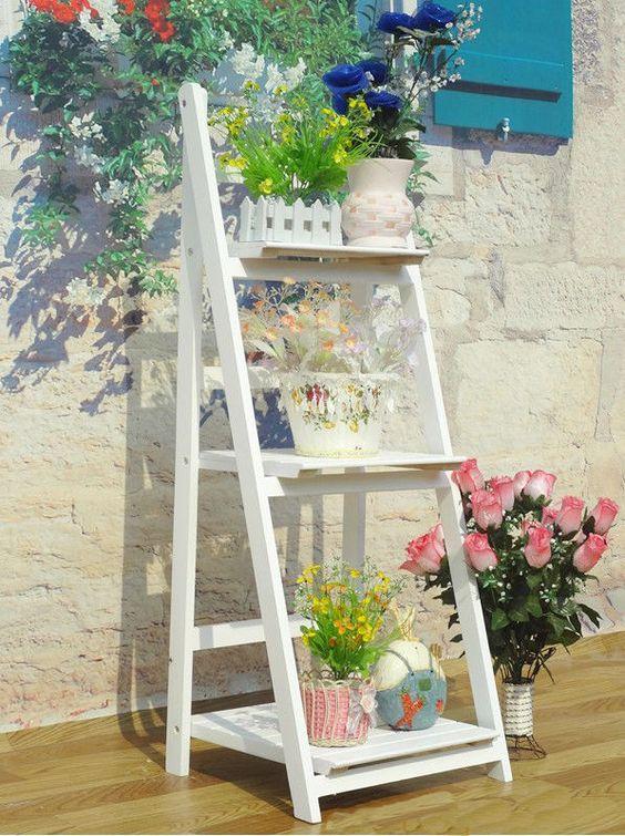 Gardens Shelves And Planters On Pinterest