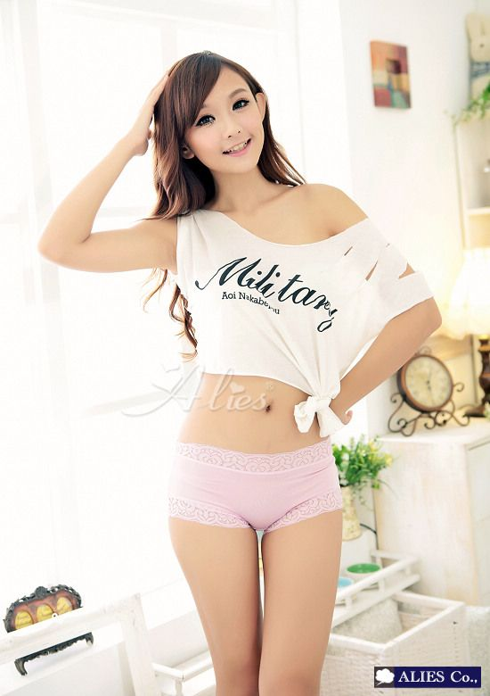 Asian girl underwear