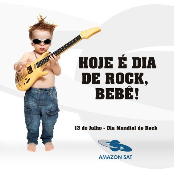 Hoje é dia do Rock!
