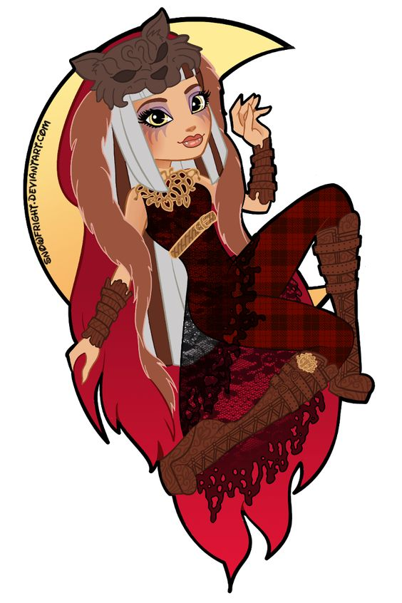 EAH: Cerise Wolf by SnowFright