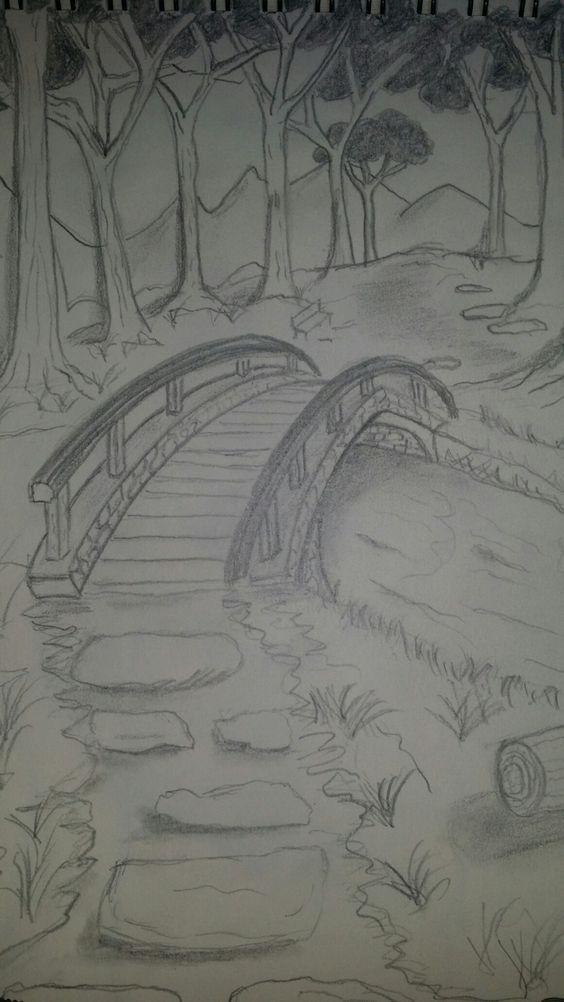 Nature Cool Art Drawings