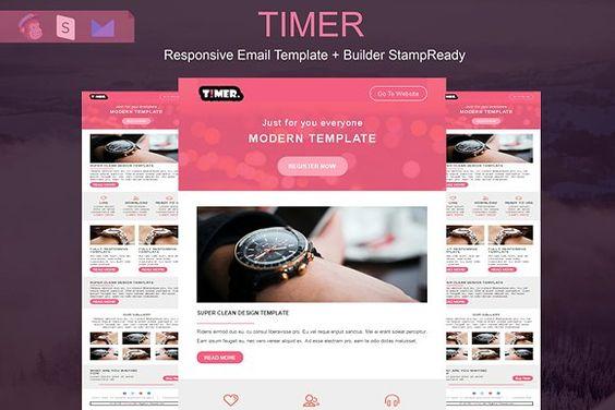 Creativemarket Dagma Responsive Email Template Free Download