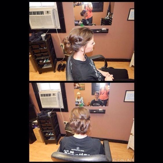 Prom updo by @eulalaallison #prom #updo #hair #style #salon #executivehairsc