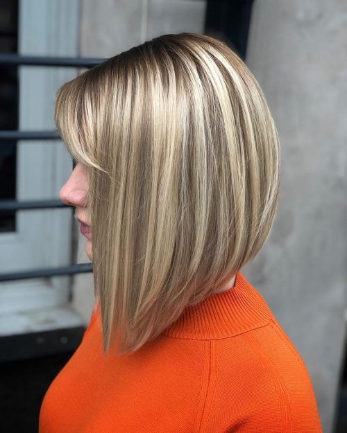 19 Best Bob Haircuts For Thick Hair To Feel Lighter Inverted Bob Hairstyles Medium Bob Hairstyles Bob Hairstyles
